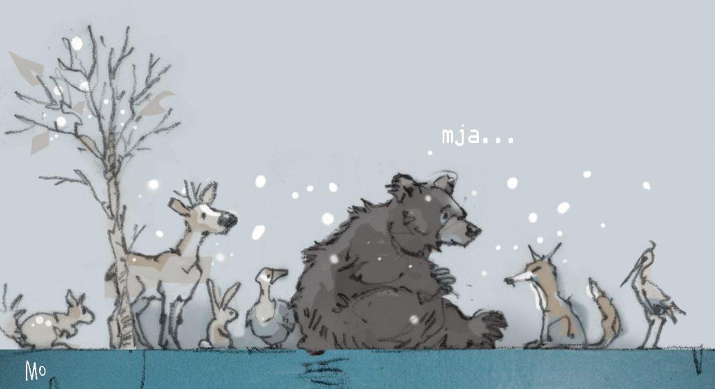 de beer op het ijs 2